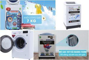 Nên mua máy giặt loại nào