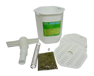 Tháo các chi tiết giúp vệ sinh máy làm giá đỗ sạch