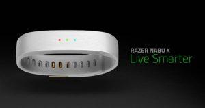 Vòng đeo tay thông minh Razer Nabu X