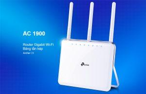 Bộ định tuyến wifi băng tần kép AC1900 TP-Link Archer C9