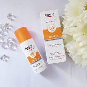 Kem chống nắng Eucerin Sun Gel Cream Oil SPF50+