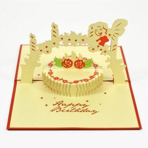 Tấm thiệp sinh nhật Happy birthday 3D pop-up