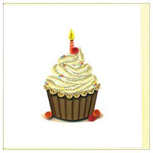 Tấm thiệp sinh nhật Việt Net - Cupcake