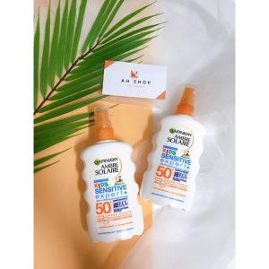 Xịt chống nắng cho trẻ em Eucerin Sun Protection Kids SPF50+