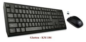 Bàn phím không dây Glatten K-186