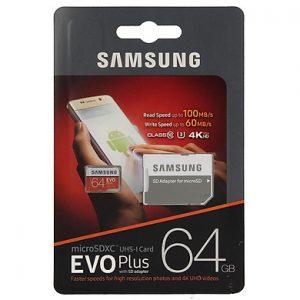 Thẻ nhớ Micro SDXC Samsung Evo Plus 64GB Class 10