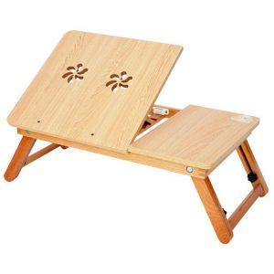 Bàn laptop gỗ tre L08 cao cấp