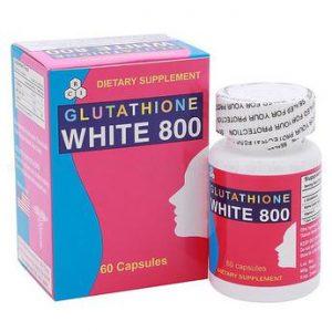 Viên uống làm trắng da Glutathione White 800