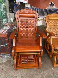 Ghế lười gỗ hương