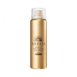 Kem chống nắng Anessa dạng xịt Anessa Perfect UV Spray Sunscreen Aqua Booster