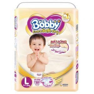 Tã cho bé Bobby Extra Soft-Dry