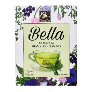 Trà thảo dược giảm cân Bella