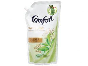 Nước xả comfort nature chiết xuất trà xanh và hoa nhài