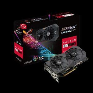 Card màn hình ASUS Radeon RX 570 4GB ROG Strix OC