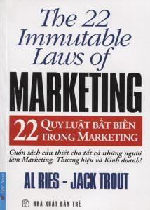 """Cuốn sách """"22 quy luật bất biến trong marketing"""""""