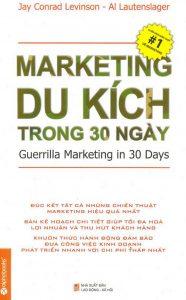 """Cuốn sách """"Marketing du kích trong 30 ngày"""""""