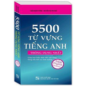 4. 5500 từ vựng tiếng Anh thông dụng nhất