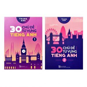 Combo sách 30 chủ đề từ vựng tiếng Anh