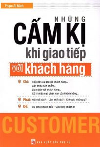 """Quyển sách """"Những cấm kị khi giao tiếp với khách hàng"""""""