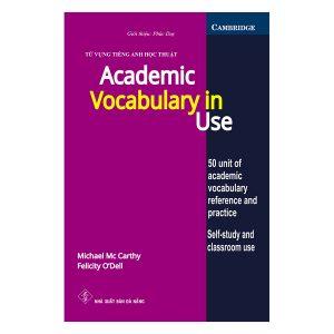 Sách từ vựng tiếng Anh học thuật – Academic Vocabulary In Use
