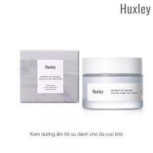Kem dưỡng Huxley Cream More Than Moist