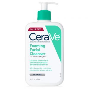 SRM Cerave Foaming Facial For Normal To Oily Skin