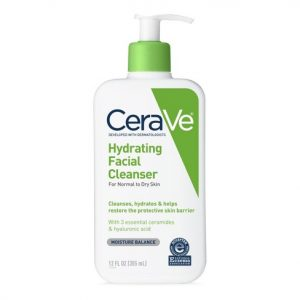 SRM Cerave Hydrating Cleanser For Dry Skin