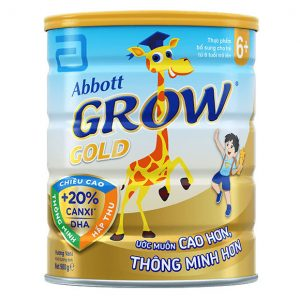 Sữa bột giúp bé cao lớn, thông minh Abbott Grow