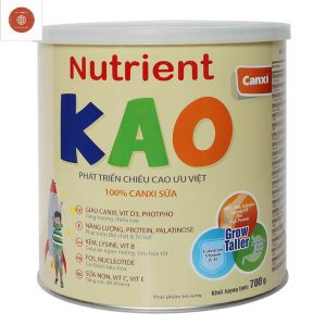 Sữa giúp bé tăng chiều cao Nutrient Kao