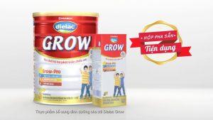 Sữa giúp phát triển chiều cao trí não Dielac Grow Plus