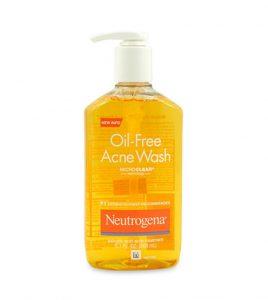 Sữa rửa mặt giảm mụn Neutrogena Oil-Free Acne Wash