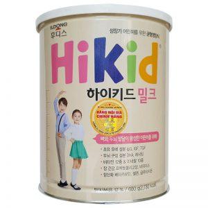 Sữa tăng chiều cao cho trẻ Hikid