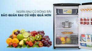 Tủ đông mini Aqua 90 lít AQR - D99FA(BS)